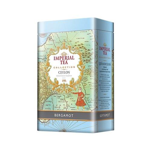 Чай черный Императорский чай Collection Ceylon Bergamot, 150 г чай улун императорский чай collection china oolong 120 г