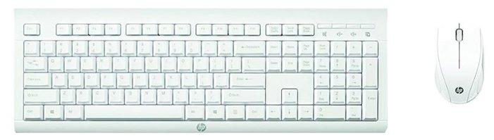 Клавиатура и мышь HP M7P30AA C2710 White USB