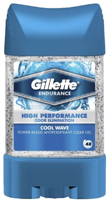 Дезодорант-антиперспирант гель Gillette Power Beads Cool Wave