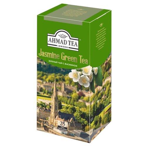 цена на Чай зеленый Ahmad tea Jasmine в пакетиках , 50 г , 25 шт.