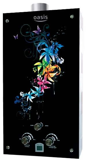 Проточный водонагреватель Oasis Glass 20 RG/TUR
