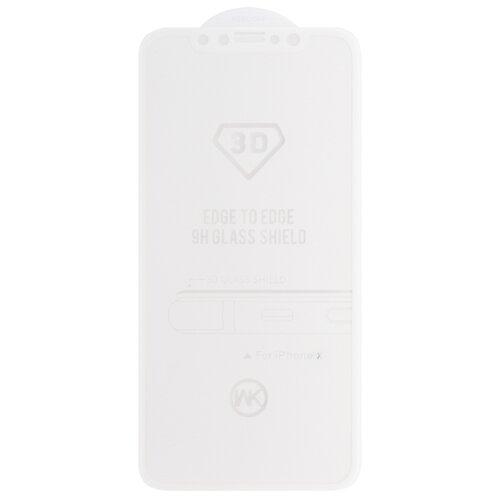Купить Защитное стекло WK Thunder 3D Curved Edge Tempered Glass для Apple iPhone X белый