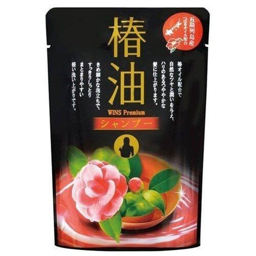 Фото - Nihon Sekken шампунь WINS Premium camellia oil, 400 мл кондиционер для белья nihon softener premium rose 500 мл