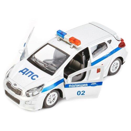Купить Легковой автомобиль ТЕХНОПАРК Kia CEED Полиция (CEED-POLICE) 12 см белый, Машинки и техника
