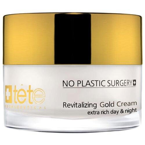 Купить TETe Cosmeceutical Revitalizing Gold Cream Омолаживающий крем для лица с коллоидным золотом и гиалуроновой кислотой, 50 мл