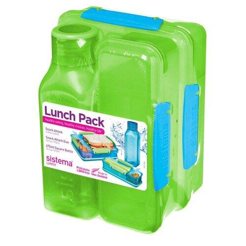 Sistema Набор для ланча Lunch 1590, зеленый недорого