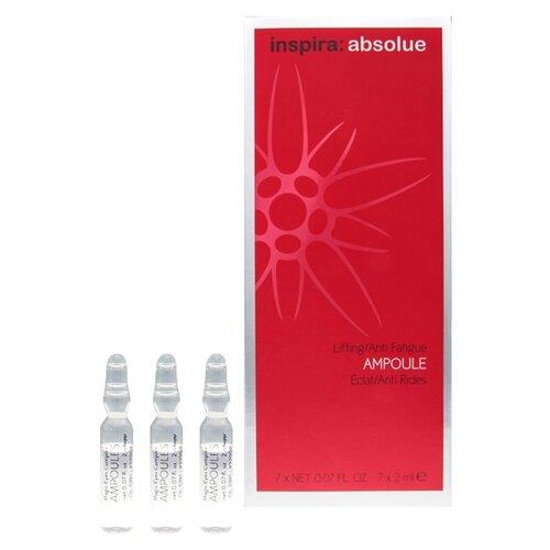 Inspira Cosmetics absolue Lifting/Anti Fatigue Ampoule Ампулы для мгновенного лифтинга и сияния кожи для лица, шеи и области декольте, 2 мл (7 шт.) недорого