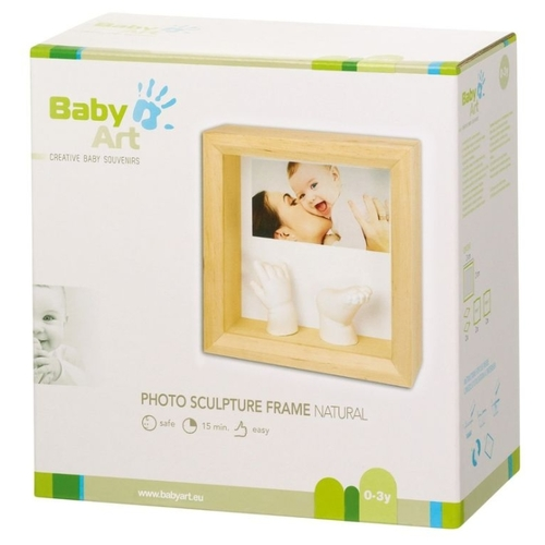 Baby Art Creative baby souvenirs - Photo sculpture frame natural (34120183)