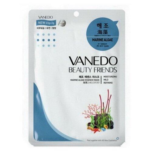Купить Vanedo Marine Algae Essence Mask Sheet Pack Маска для лица с морскими водорослями, 25 г