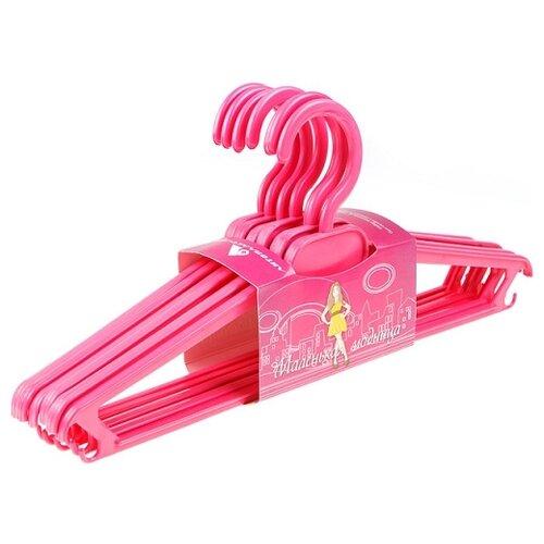 Вешалка Литопласт-Мед Набор детская №2 34.5 см розовый