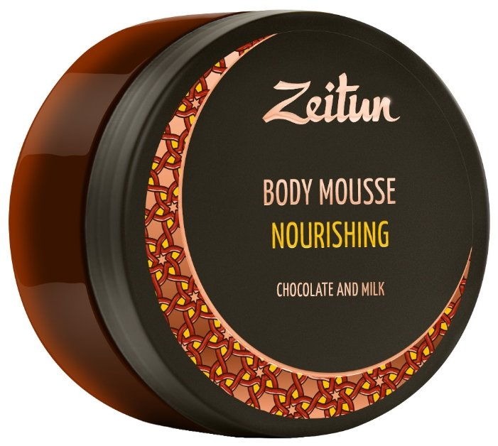 Мусс для тела Zeitun питательный Шоколад и молоко