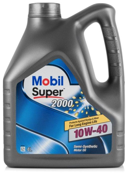 Моторное масло MOBIL Super 2000 X1 10W-40 4 л