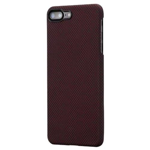 Чехол-накладка Pitaka MagCase (арамид) для Apple iPhone 7 Plus/8 Plus Black/Red Plain аксессуар чехол neypo soft touch для apple iphone 8 plus 7 plus black st02111