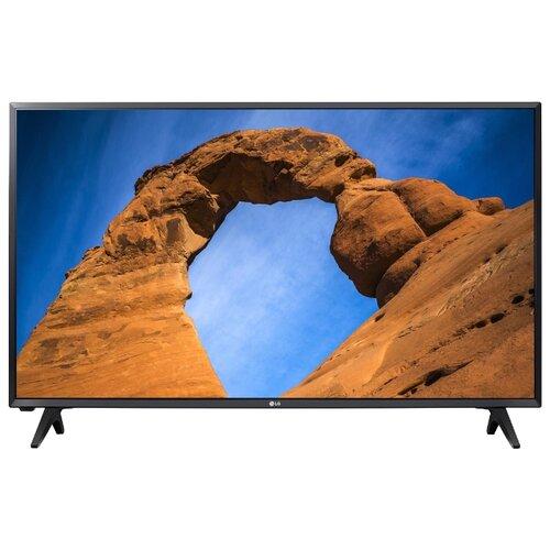 Телевизор LG 32LK500B 32 (2018) черный телевизор lg 32 32lt340c черный