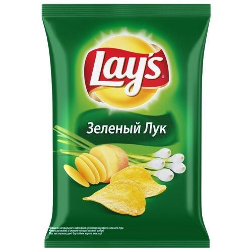 Чипсы Lay s картофельные Зеленый лук, 80 г