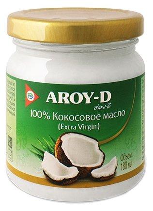 Aroy-D Масло 100% кокосовое (extra virgin) 0.18 л