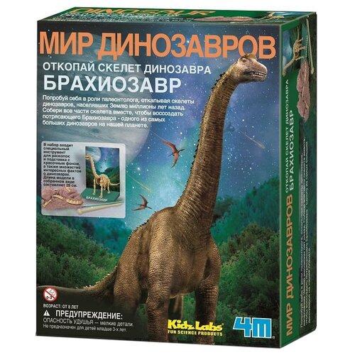 Купить Набор для раскопок 4M Откопай скелет динозавра. Брахиозавр, Наборы для исследований