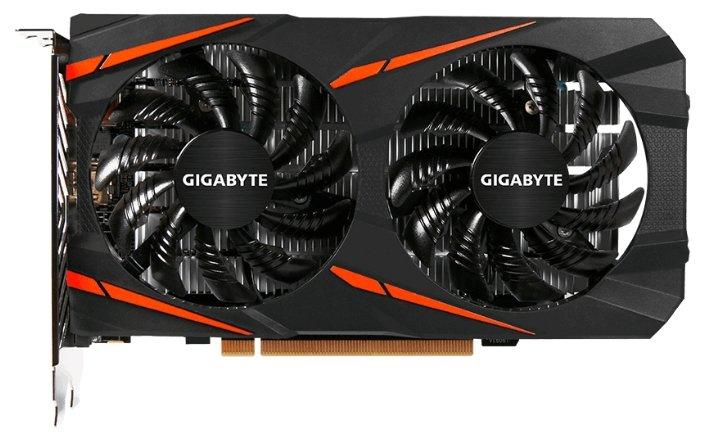 GIGABYTE Видеокарта GIGABYTE Radeon RX 560 1234MHz PCI-E 3.0 4096MB 7000MHz 128 bit DVI HDMI HDCP Gaming OC (rev. 2.0)