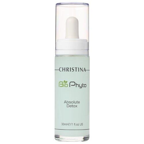 Christina Bio Phyto Absolute Detox Serum Детокс-сыворотка Абсолют для лица, шеи и декольте, 30 мл klapp immun detox serum сыворотка детокс 30 мл