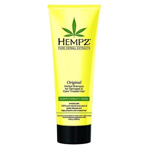 Hempz шампунь Daily Hair Care Original for damager and color treated hair 265 мл hempz шампунь тройное увлажнение 265 мл