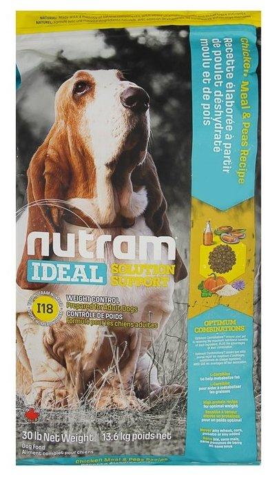 Корм для собак Nutram Weight Control Dog