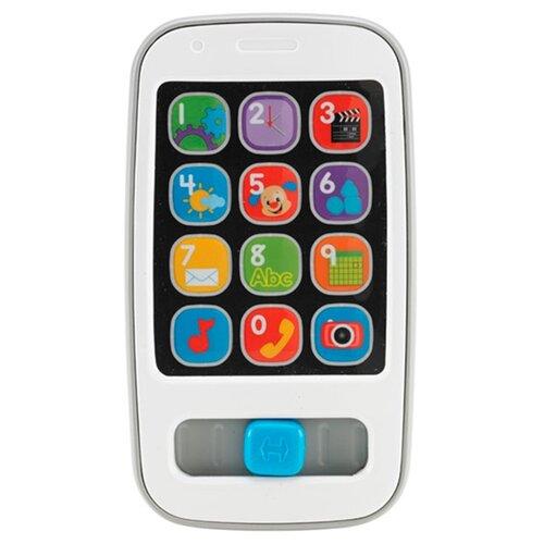 Купить Интерактивная развивающая игрушка Fisher-Price Смартфон серый/белый, Развивающие игрушки
