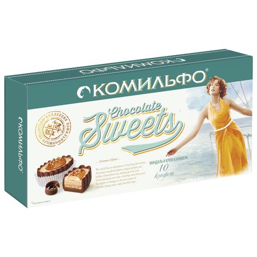 Набор конфет Комильфо Миндаль и крем-карамель 116 гр