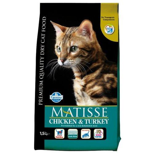Корм для кошек Farmina (1.5 кг) Matisse Chicken & TurkeyКорма для кошек<br>