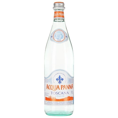 Минеральная вода Acqua Panna негазированная, стекло, 0.75 л