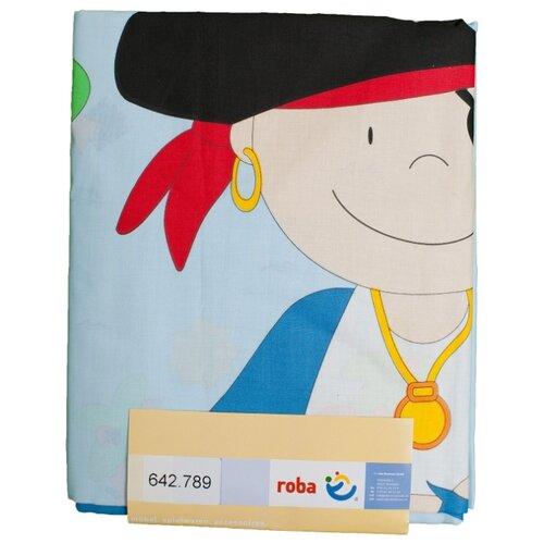 Roba комплект постельного белья Пират Пит (2 предмета) голубойПостельное белье и комплекты<br>
