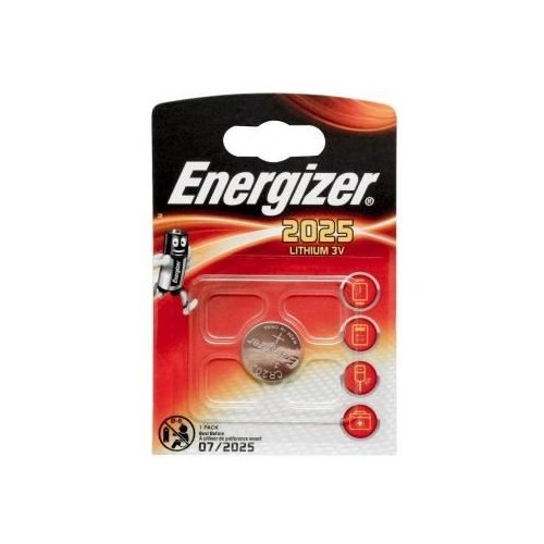 Батарейка Energizer CR2025 1 шт блистерБатарейки и аккумуляторы<br>