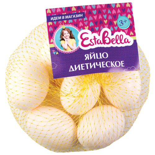 Купить Набор продуктов EstaBella Яйцо диетическое 62091 белый, Игрушечная еда и посуда
