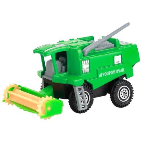 Купить Комбайн ТЕХНОПАРК 816-4 7.5 см зеленый, Машинки и техника