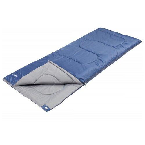 Спальный мешок TREK PLANET Ranger Jr синий с левой стороны
