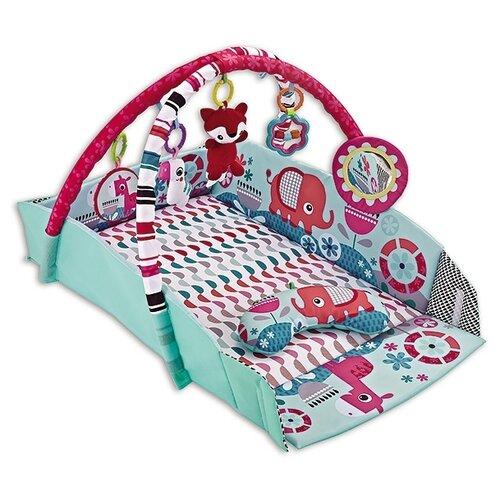 Купить Развивающий коврик Funkids Happy Folder Gym (CC9637), Развивающие коврики