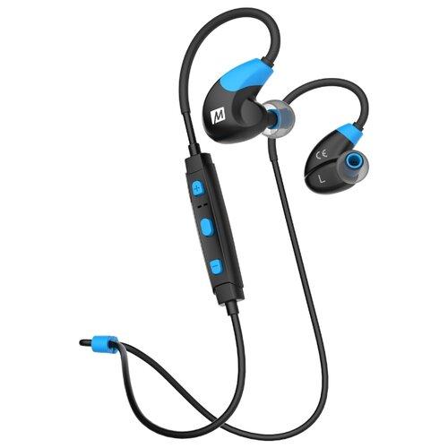 Беспроводные наушники MEE audio Sport-Fi X7 blue беспроводные наушники sbw x7 black