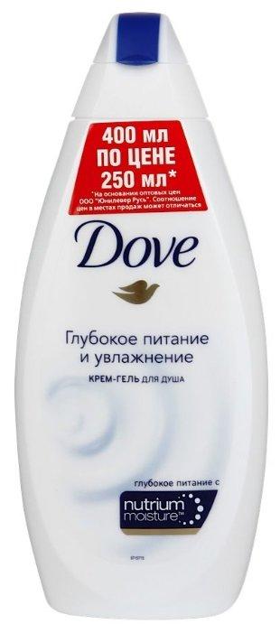 Крем-гель для душа Dove Глубокое питание и увлажнение
