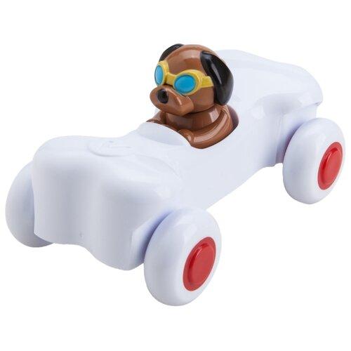 Купить Машинка Viking Toys Cute Racer Bone (1364) 14 см белый, Машинки и техника