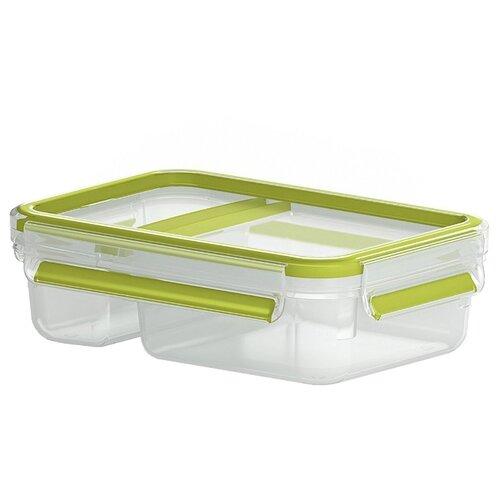 EMSA Контейнер CLIP & GO для йогурта 518103 зеленый/прозрачный