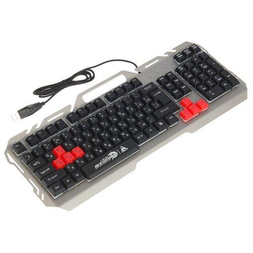 Игровая клавиатура Xtrikeme KB-501 Grey USB