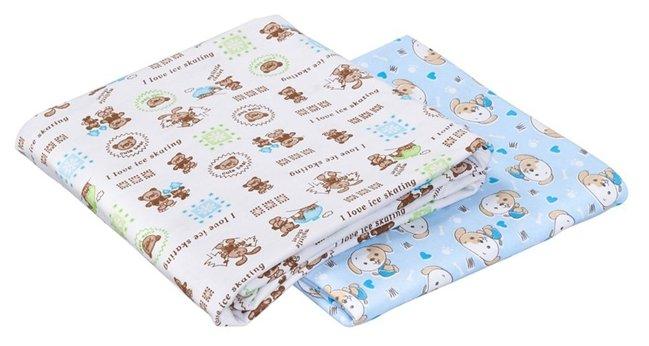 Многоразовые пеленки SWEET BABY кулирка 130х90 комплект 2 шт.