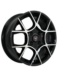 NZ Wheels F-26 6.5x16 4x100 ET 52 Dia 54.1 BKF - фото 1