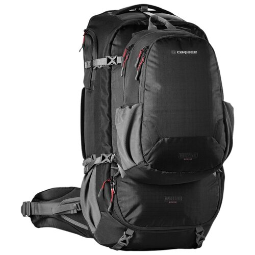 Рюкзак Caribee Magellan 65 black рюкзак caribee pulse 65 black
