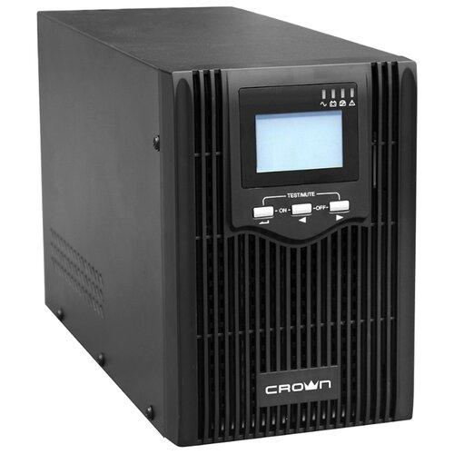 Интерактивный ИБП CROWN MICRO CMUS-610 черный