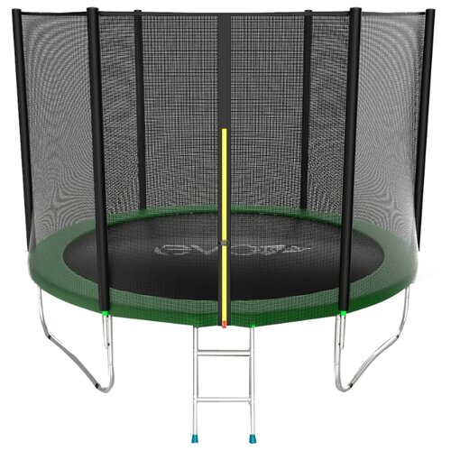 Каркасный батут EVO Jump 8FT External 244х244х210 см green каркасный батут oxygen fitness standard inside 8ft 244х244 см синий