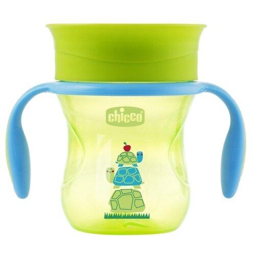 Поильник Chicco Perfect Cup, 266 мл зеленая черепаха