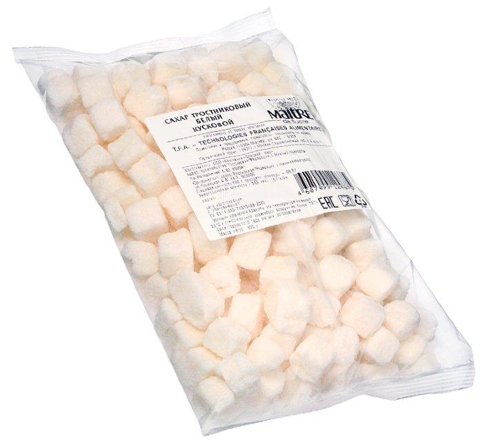 Сахар MAITRE тростниковый белый кусковой, 800 гр.