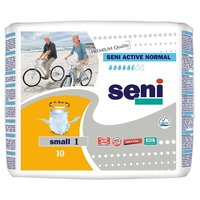 Seni Active Normal Small / Сени Актив Нормал Смол, 10 шт, трусы впитывающие для взрослых