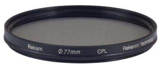 Светофильтр поляризационный круговой Rekam CPL 77 мм