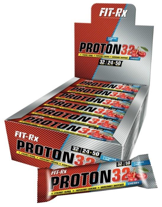 FIT Rx протеиновый батончик Proton 32